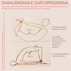 Dhanurasana e Chatuspadasana