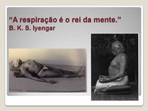 A respiração é o rei da mente